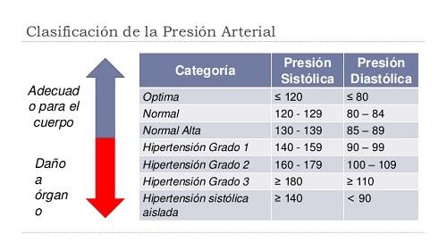 Presión sanguínea Experimento Bueno o insalubre